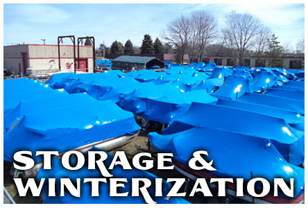 Winterize Boat Storage